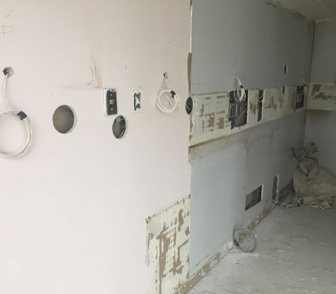 Kitchen Electrical Wiring Photo 1