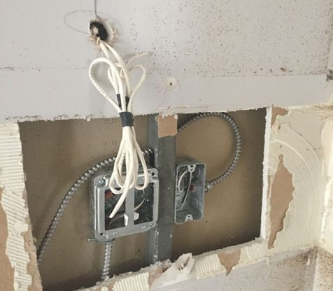 Kitchen Electrical Wiring Photo 2
