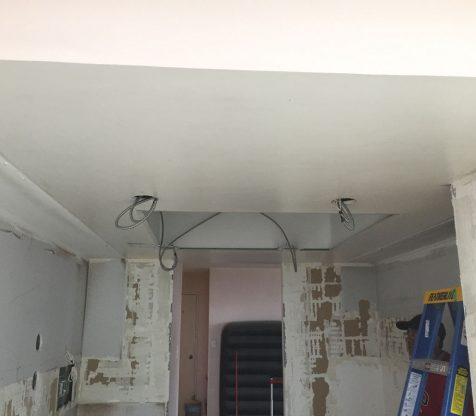 Kitchen Electrical Wiring Photo 3